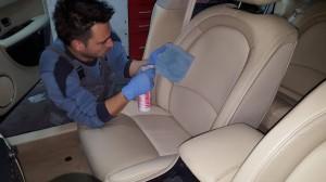Čišćenje kožnog enterijera